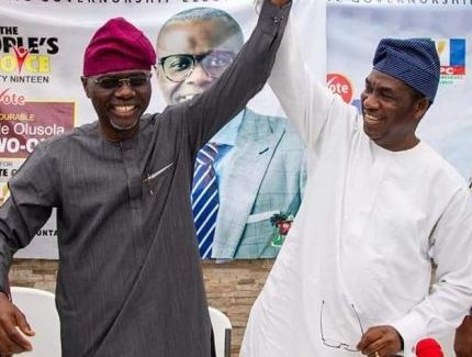 Sanwo-Olu picks Femi Hamzat as running mate Lagos Governorship 2019