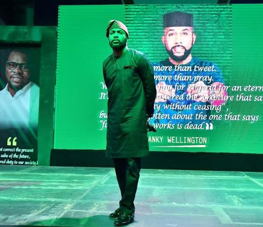 Full text of speech delivered by Banky W as he declared to run House of Rep