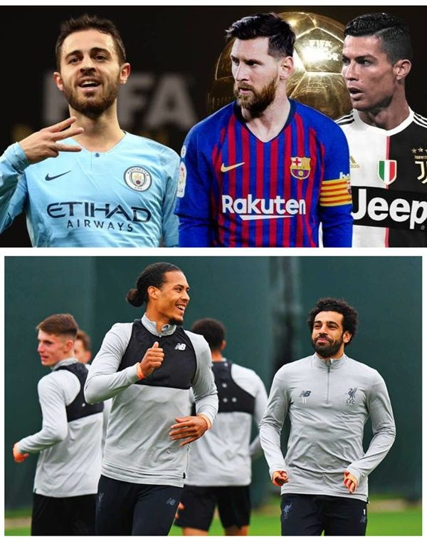 Cristiano Ronaldo, Lionel Messi and 4 Liverpool Players Nominated For 2018-2019 Player Of The Year Award ( full list)