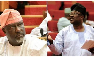 Smart Adeyemi and dino melaye