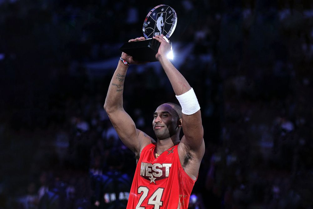NBA renames All-Star MVP award to honor Kobe Bryant