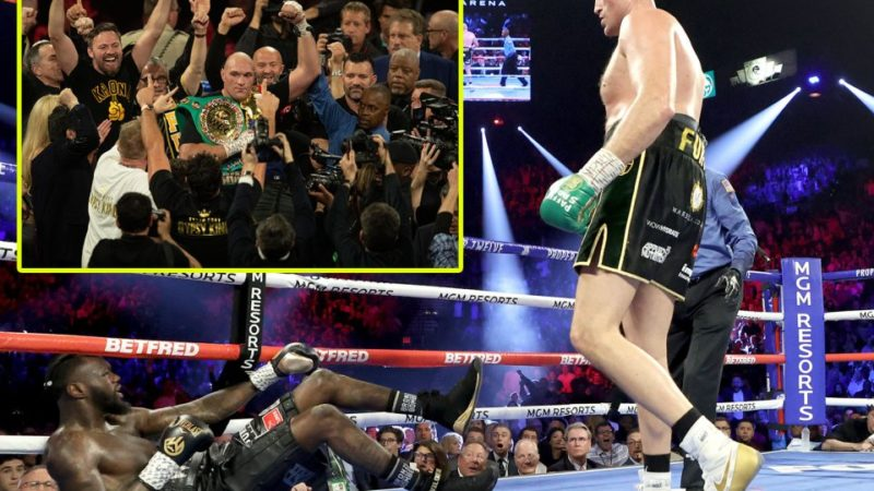 Tyson Fury beats Deontay Wilder in TKO triumph in WBC heavyweight title rematch