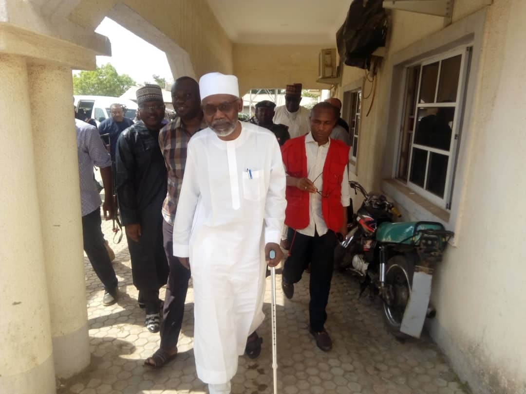 Former AGF, Mohammed Adoke regained his freedom from EFCC's custody