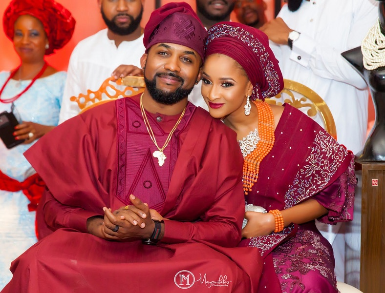 Banky W and Adesua Etomi got married back in 2017.