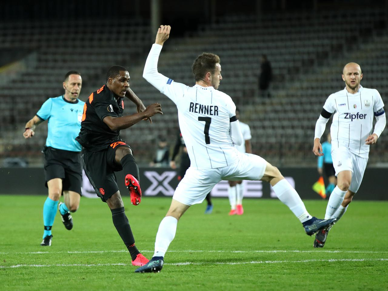 Ighalo's beauty against LASK