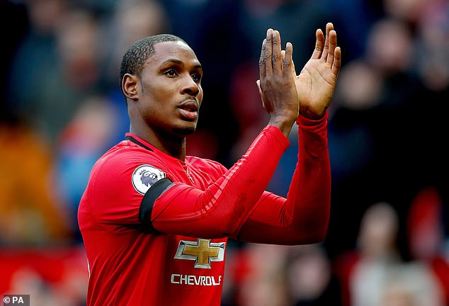 Odion Ighalo at Old Trafford