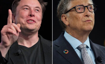 Elon Musk and bill gate