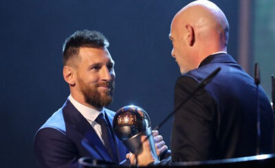 FIFA best player for messi