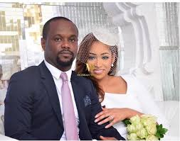 photos of Seyi Tinubu and wife Layal at their white wedding in Lake Como, a resort in Italy.