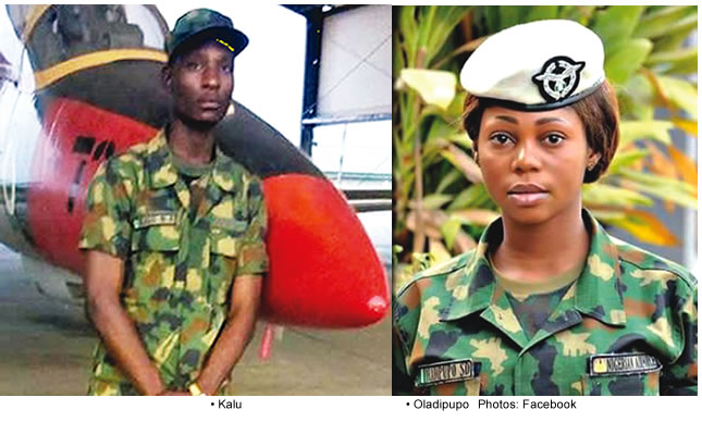 Nigeria Airforce Personnel Solape Oladipupo killed by jealous lover buried in Lagos