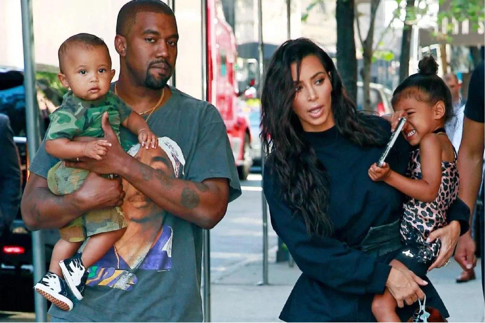 5ffe45995 Kim Kardashian West and Kanye West Launch Kids Supply Clothing Line