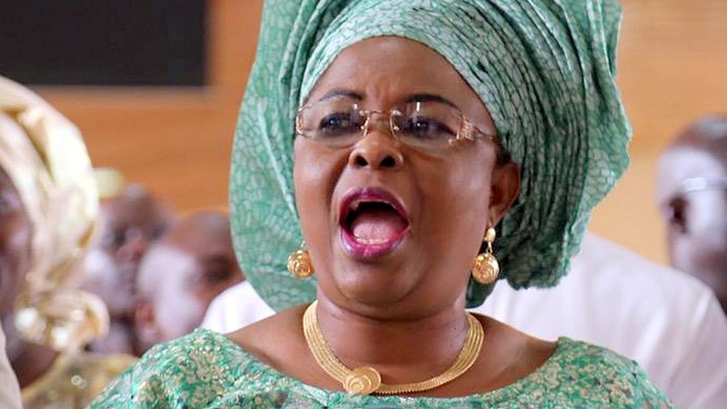 Patience Jonathan accused EFCC's Boss Magu that UK not to give her visa