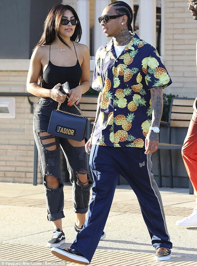 Tyga,Kylie Jenner ex spotted on date with Kim Kardashian carbon copy