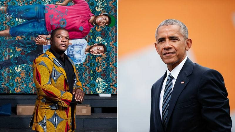 Barack Obama Taps Nigerian artist, Kehinde Wiley to paint his official presidential portrait
