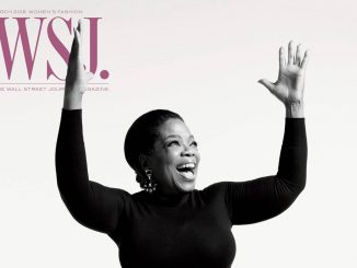 2018 March Issue Wall Street Journal Magazine's,Oprah Winfrey covers it