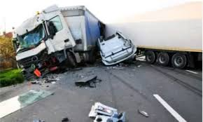 Truck ran into five vehicles Two dead, four injured at Sango-Ota toll-gate