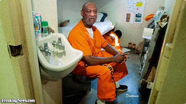 Bill Cosby attacked in prison within a space of two weeks for making a silly joke