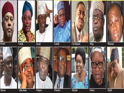 Dasuki,FFK,Olisa Metuh make list of 50 prominent Nigerians banned from traveling
