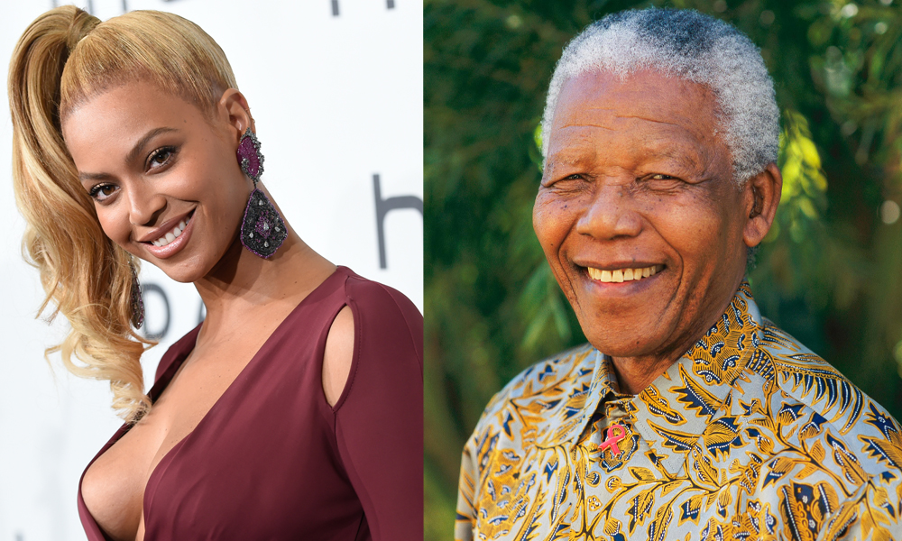 Beyoncé pens letter of gratitude to Nelson Mandela-You made it possible to reject Impossibilities'