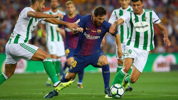 Twitter reacts as Lionel Messi fails, Real Betis beat Barcelona 4-3
