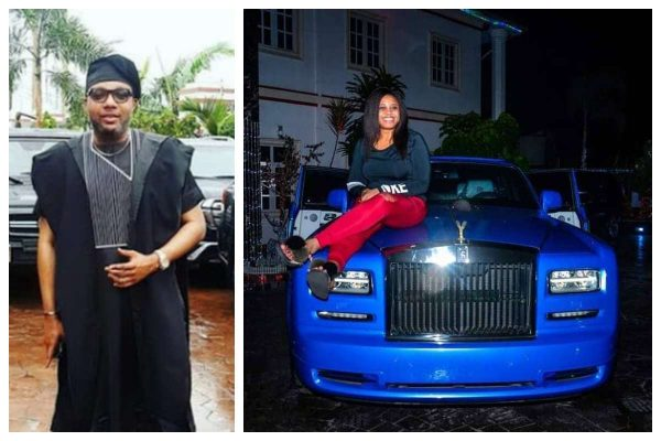 "Emeka Okonkwo ""E-money "" buys his wife Juliet a Rolls Royce Phantom as 2018 Christmas gift"