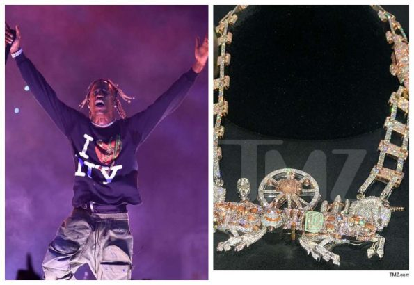 Travis Scott spends $450k on diamond chain for his 'Astroworld' tour