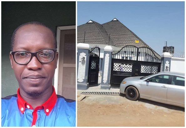 Nigerian blogger, Abdulganiy Saad multi-million Naira mansion in Ilorin Kwara state
