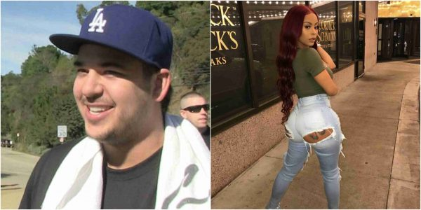 Rob Kardashian reveals he's crushing on Alexis Skyy for Scuffle with Chyna