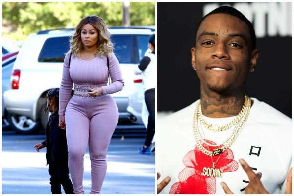 Blac Chyna and Soulja Boy breakup,calls him a clout chaser