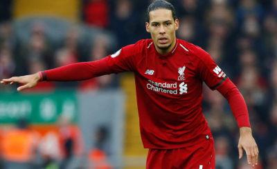 Virgil van Dijk named Premier League Player