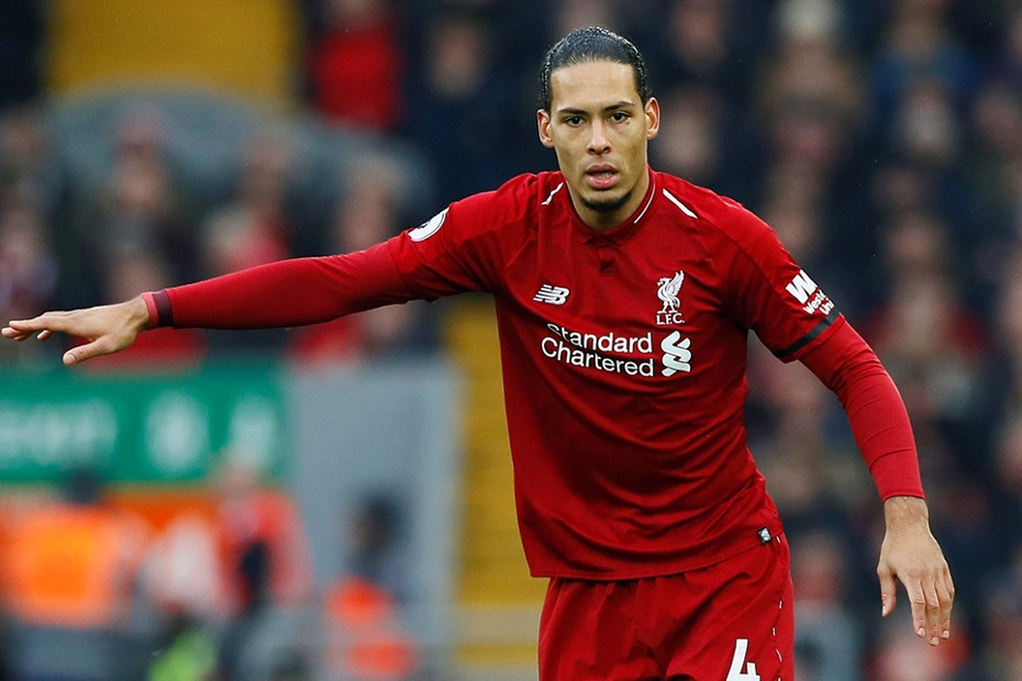 Virgil van Dijk named Premier League Player