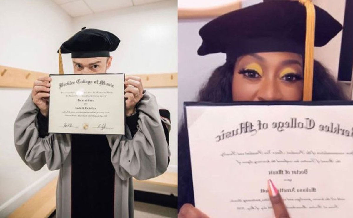 Missy Elliott and Justin Timberlake bag honorary doctorate degrees from Berklee College of Music
