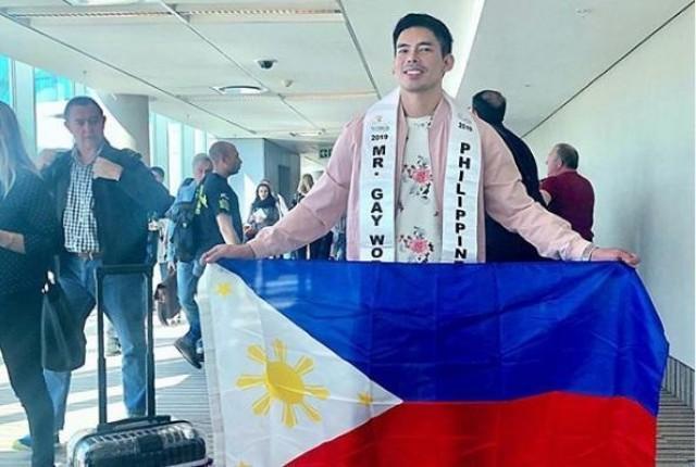 Philippines' Janjep Carlos crowned Mr Gay World 2019
