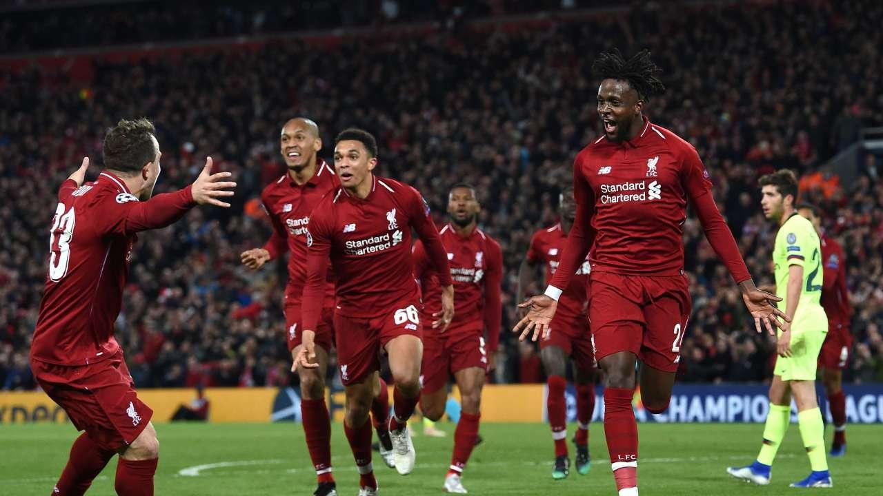 Liverpool stun Barcelona 4-0, qualify for Champions League final