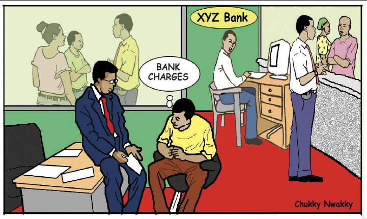 Bank excess charges