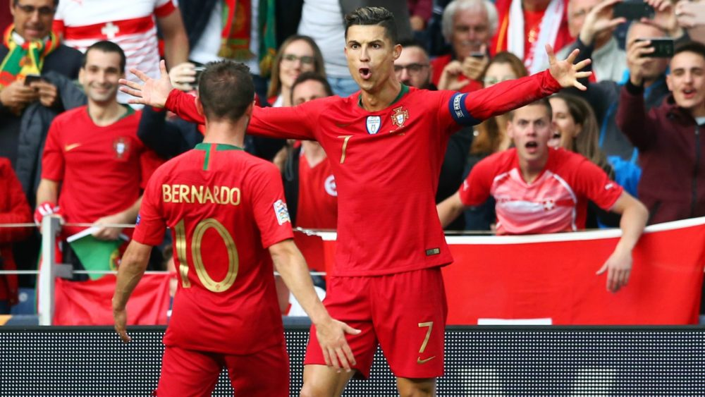 Cristiano Ronaldo's stunning 53rd hat-trick of his career fires hosts Portugal into the Nations League final