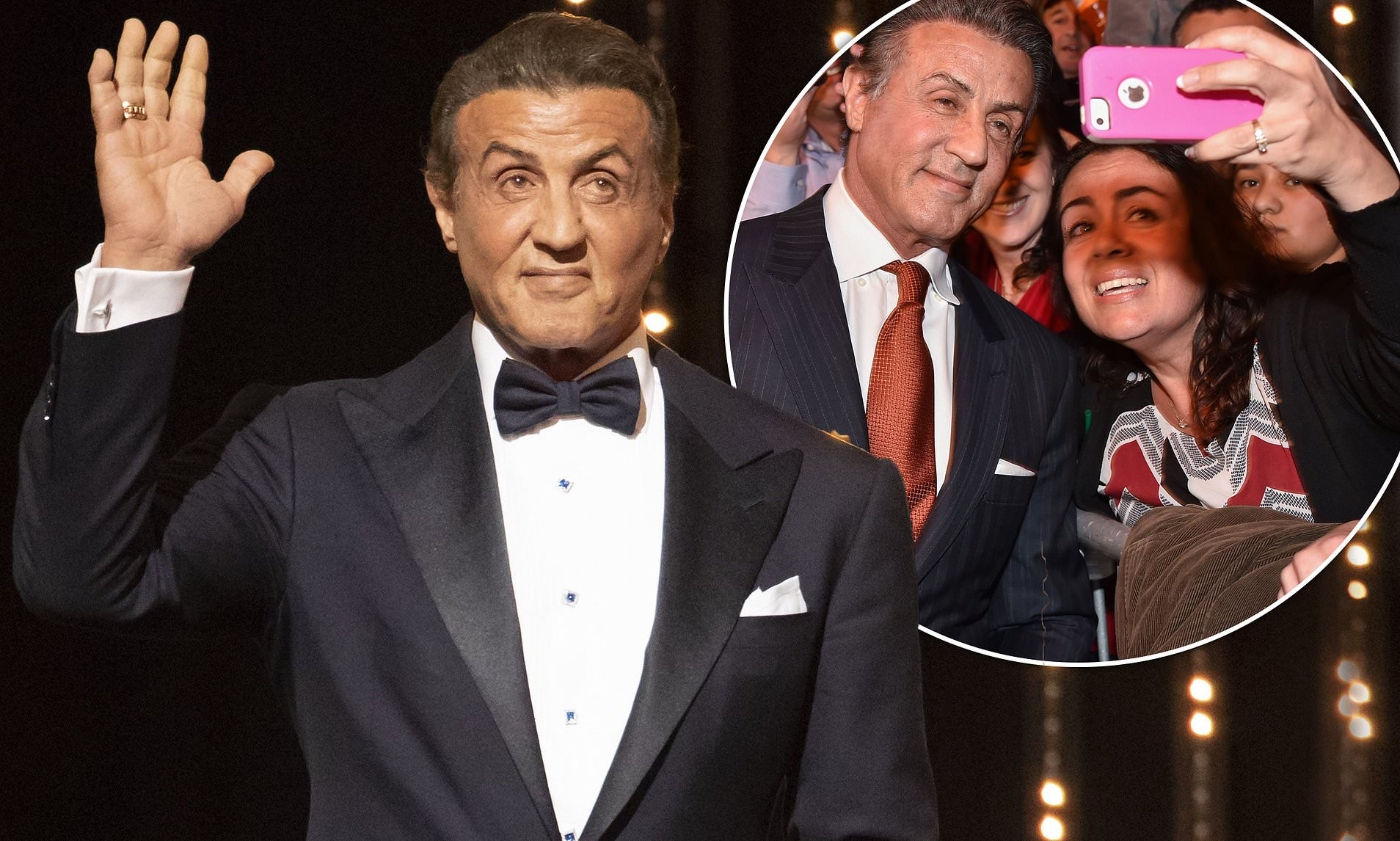 Sylvester Stallone charges £849 for a photo with him at UK events- fans feels disappointed