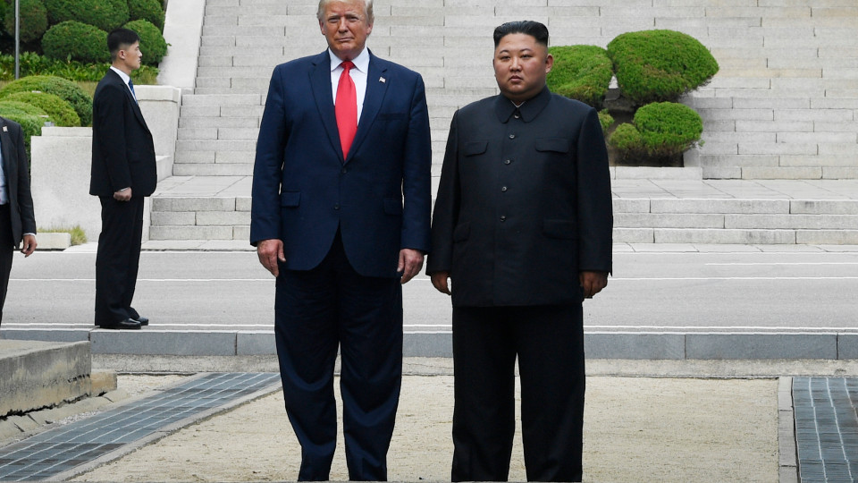 President Trump becomes first sitting US president to set foot in North Korea soil (Photo)