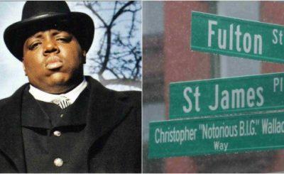 Street in Brooklyn Renamed in In Honor of Notorious B.I.G
