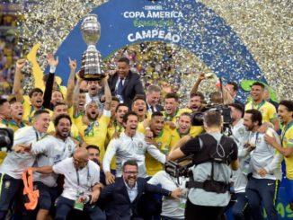 Brazil defeat Peru 3-1 to win 2019 Copa America defeat Peru 3-1 to win 2019 Copa America