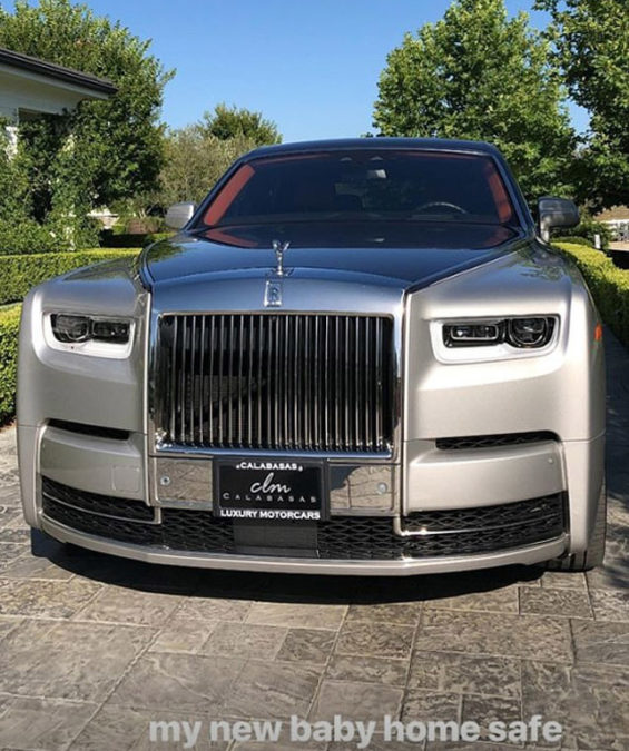 Kylie Jenner buys $450k Rolls-Royce