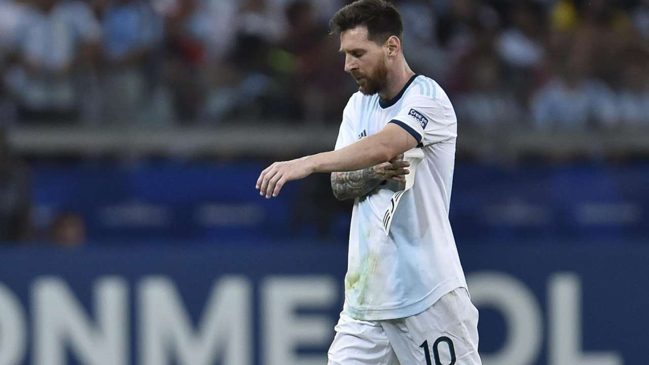 Lionel Messi could face faces two-year ban after Copa America Red card rant