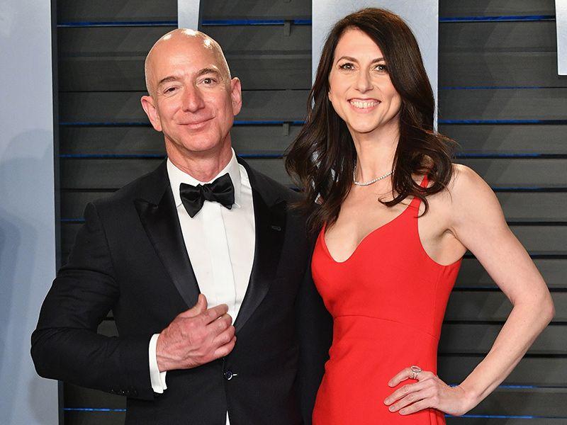 MacKenzie Bezos and jeff benzo