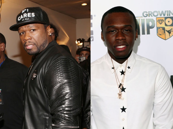 Marquis Jackson and 50 cent