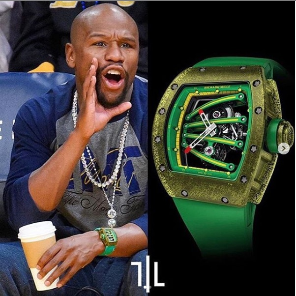 Floyd Mayweather expensive wristwatches