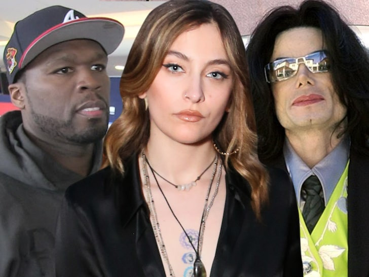 50 Cent slammed Paris Jackson For Defending Her Dad Michael Jackson