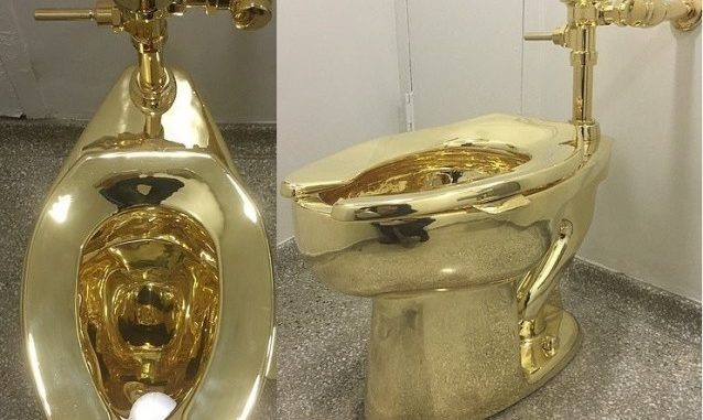 Burglars steal $5 million gold toilet from Britain's Blenheim Palace