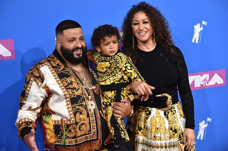 DJ Khaled and wife Nicole Tuck expecting second baby boy