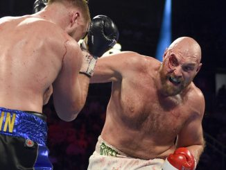 Tyson Fury vs Otto Wallin pictures