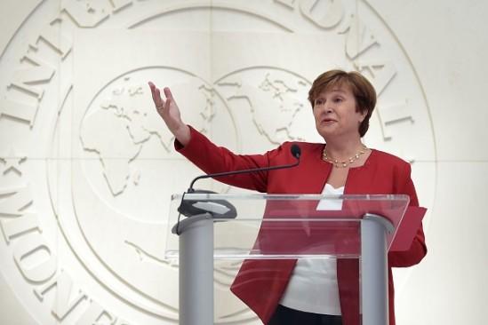 IMF new managing director Kristalina Georgieva